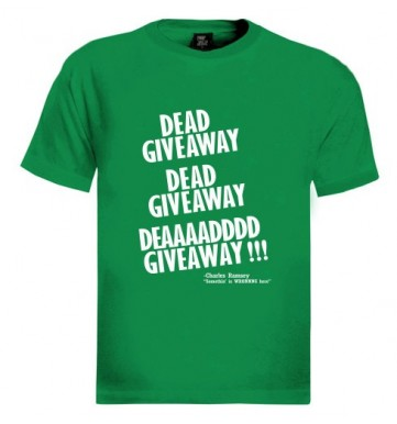charles ramsey dead giveaway t-shirt