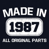 30th-Birthday-Gift-Made-In-1987-All-Original-Parts-T-Shirt