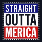 4th-Of-July-Straight-Outta-Merica-T-Shirt