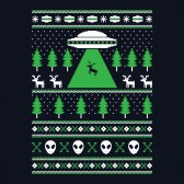 Alien-Reindeer-Abduction-Ugly-Christmas-Sweater-Youth-Kids-T-Shirt