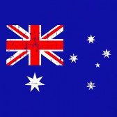 Australian-Flag-Vintage-Style-Youth-Kids-T-Shirt
