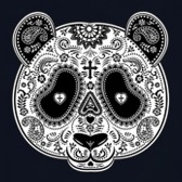 Aztec-Panda-Head-T-Shirt