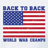 Back-to-back-world-war-champion-Women-T-Shirt