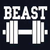 Beast-dumbbell-Couple-Matching-T-Shirt