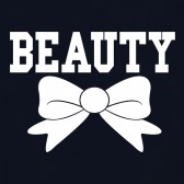 Beauty-bow-Couple-Matching-Women-T-Shirt