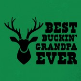 Best-Buckin-Grandpa-Ever-Funny-Hunting-Gift-For-Grandad-T-Shirt