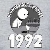 Blowing-Out-Candles-Since-1992-Birthday-Gift-T-Shirt
