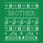Brother-Ugly-Christmas-Sweater-ToddlerInfant-Kids-T-Shirt