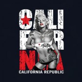 Cali-California-Tattooed-Marilyn-Monroe-T-Shirt
