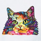 Cat-Lover-Gift-Rainbow-Fluffy-Kitty-Neon-Graphic-T-Shirt