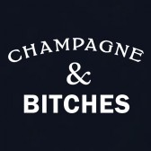 Champagne-and-Bitches-Women-T-Shirt