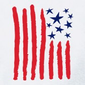 Childrens-Drawing-American-Flag-Kids-T-Shirt