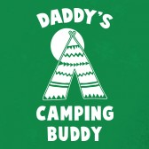 Daddys-Camping-Buddy-Youth-Kids-T-Shirt