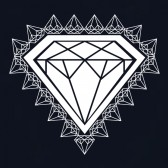 Diamond-Print-T-Shirt