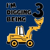 Digging-Being-3-Three-Years-Old-Birthday-ToddlerInfant-Kids-T-Shirt
