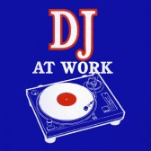 DJ-at-Work-Women-T-Shirt
