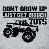 Dont-Grow-Up-Buy-Bigger-Toys-T-Shirt