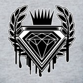 Dripping-Diamond-Cartoon-LOGO-T-Shirt
