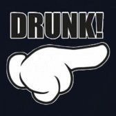 DRUNK-Cartoon-Hand-T-Shirt