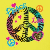 Fluorescent-Peace-T-Shirt