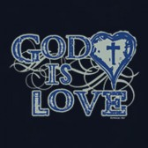 God-Is-Love-Christian-Religious-Jesus-Apparel-T-Shirt