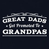 Great-Dads-Get-Promoted-To-Grandpas-Gift-for-New-Grandads-T-Shirt