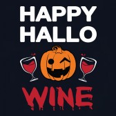 Happy-Hallowine-Halloween-Women-T-Shirt