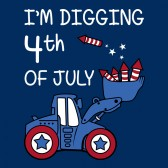 Im-Digging-4th-of-July-ToddlerInfant-Kids-T-Shirt
