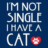 Im-Not-Single-I-Have-a-Cat-T-Shirt
