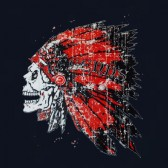 Indian-Skull-Chief-T-Shirt