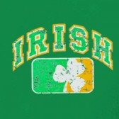 IRISH-three-leaf-clover-sports-T-Shirt
