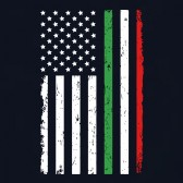 Italy-Usa-Flag-T-Shirt