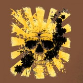 Japanese-Flag-Skull-T-Shirt