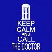 KEEP-CALM-AND-CALL-THE-DOCTOR-Women-T-Shirt
