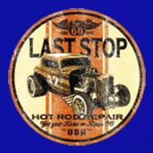 Last-Stop-Hot-Rod-Women-T-Shirt