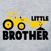 Little-Brother-Tractor-Boys-Baby-Onesie