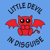 Little-Devil-in-Disguise-ToddlerInfant-Kids-T-Shirt