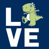 Love-Dinosaur-Kids-T-Shirt