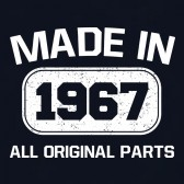 Made-In-1967-All-Original-Parts-T-Shirt