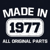 Made-In-1977-All-Original-Parts-T-Shirt