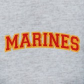 Marine-Logo-Embroidered-patch-T-Shirt