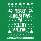 Merry-Christmas-Ya-Filthy-Animal-T-Shirt