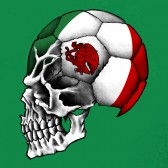 Mexico-Flag-World-Cup-Skull-Women-T-Shirt