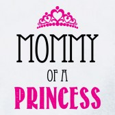 Mommy-of-a-Princess-Women-T-Shirt
