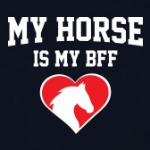 My-Horse-Is-My-BFF-Youth-Kids-T-Shirt