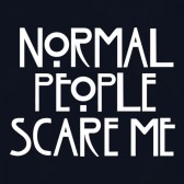 Normal-People-Scare-Me-Women-T-Shirt
