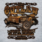 OutLaw-Hot-Rod-T-Shirt