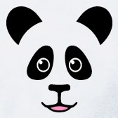 Panda-Face-Kids-T-Shirt