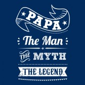 Papa-The-Man-The-Myth-The-Legend-Perfect-Gift-for-Fathers-T-Shirt