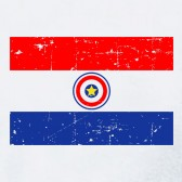 Paraguay-Vintage-Flag-Youth-Kids-T-Shirt